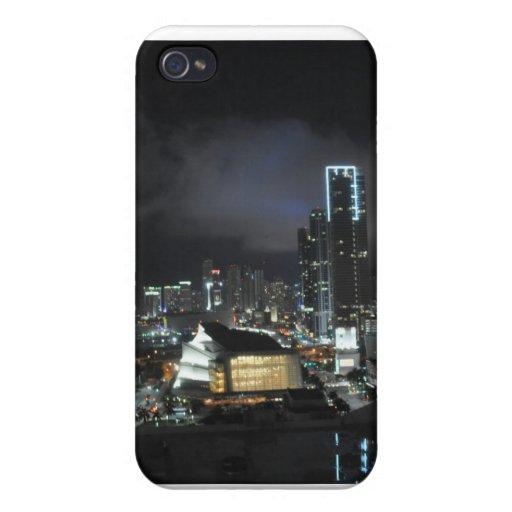 Miami en la noche iPhone 4 coberturas