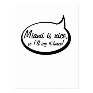 Miami es Niza (así que yo la dirá dos veces) Postales