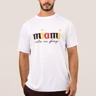 Miami esta en Fuego Athletic T-Shirt