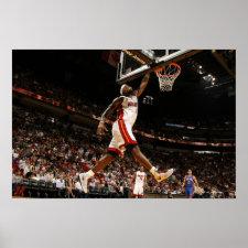 MIAMI - FEBRUARY 27: LeBron James #6 of the Print