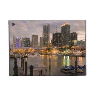 Miami financial skyline at dusk case for iPad mini
