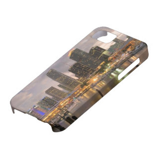 Miami financial skyline at dusk iPhone SE/5/5s case
