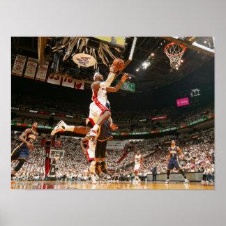 MIAMI, FL - 15 DE MAYO:  LeBron James #6 del Póster