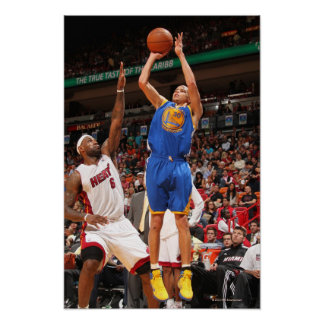 MIAMI, FL - 1 DE ENERO: Curry #30 de Stephen del Impresiones
