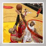 MIAMI, FL - 24 DE MAYO: LeBron James #6 de la Miam Impresiones