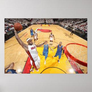 MIAMI, FL - JUNE 02: LeBron James #6 of the Poster