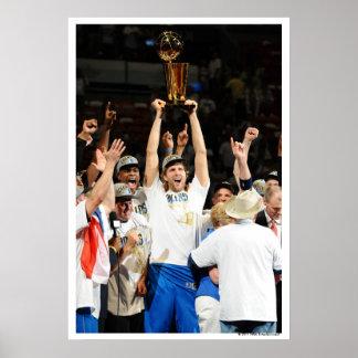 MIAMI, FL - JUNE 12: Dirk Nowitzki #41 of the Poster