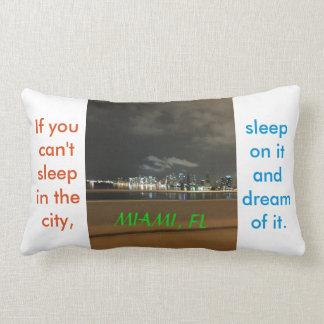 Miami, FL Pillow Quote