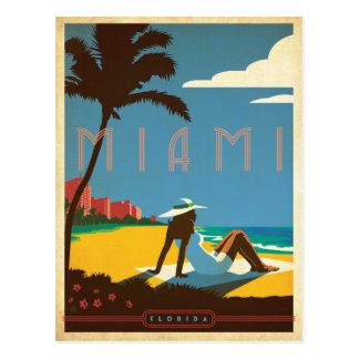 Miami, FL Postcard