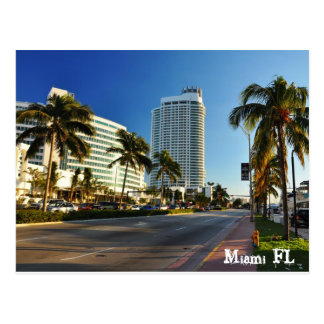 Miami FL Tarjeta Postal