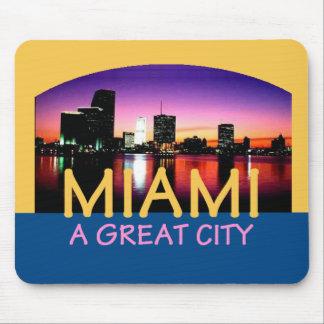 Miami Florida A Great City Mousepad