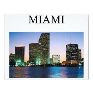 MIAMI florida Card