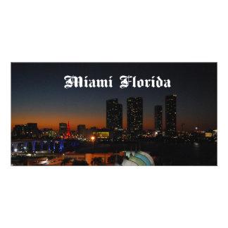 Miami Florida Card