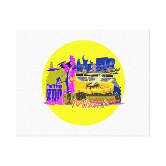 miami florida city invert 2 watercolour  travel.pn canvas print