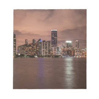 Miami Florida city Note Pad