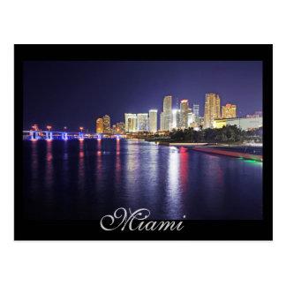 Miami, Florida, City of Progress Postcard