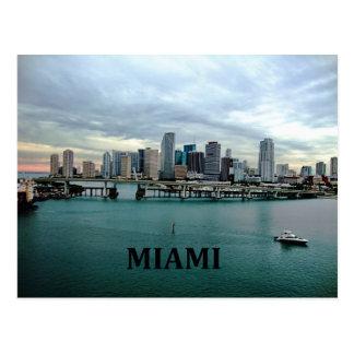 Miami Florida | City Skyline Postcard