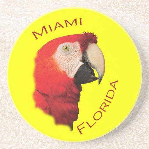 Miami, Florida Drink Coaster