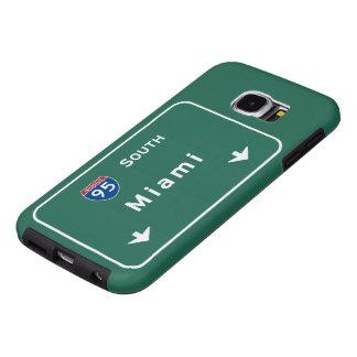 Miami Florida fl Interstate Highway Freeway : Samsung Galaxy S6 Case