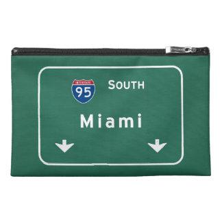 Miami Florida fl Interstate Highway Freeway : Travel Accessory Bag