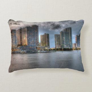 Miami, Florida Accent Pillow