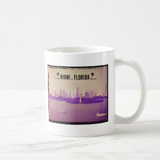 Miami Florida Classic White Coffee Mug