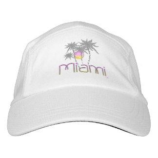 Miami, Florida Palms Modern Cool Adjustable Hat