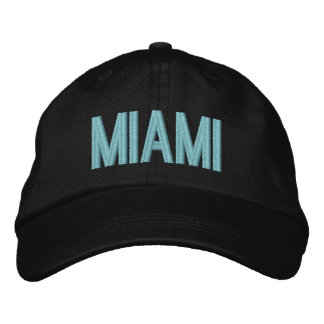Miami Florida Personalized Adjustable Hat
