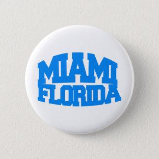 Miami Florida Pinback Button