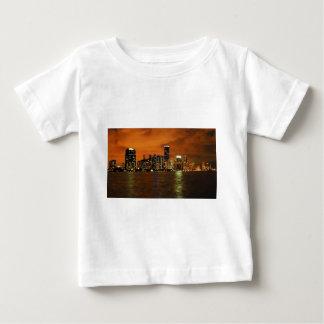 Miami, Florida skyline at night Baby T-Shirt