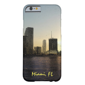 Miami, Florida skyline Barely There iPhone 6 Case