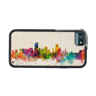 Miami Florida Skyline Cityscape iPhone 5/5S Cases