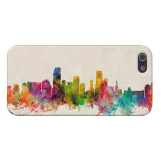 Miami Florida Skyline Cityscape iPhone 5 Case