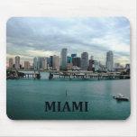 Miami Florida Skyline Mousepad