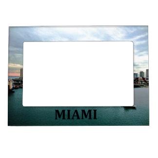 Miami Florida Skyline Waterfront Photo Frame
