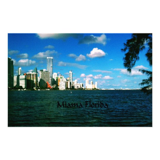 Miami Florida Stationery