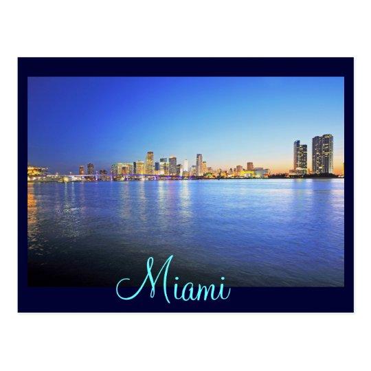 Miami, Florida, The City Beautiful Postcard