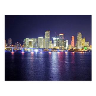 Miami, Florida, the Sunshine City Postcard