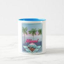 Miami Florida Vintage travel poster