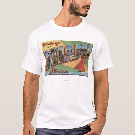 Miami, FloridaLarge Letter ScenesMiami, FL 2 T-Shirt