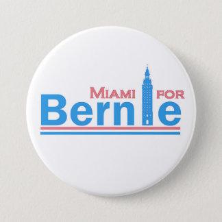 Miami for Bernie Pinback Button