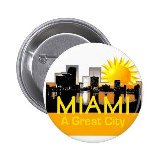 MIAMI Great City Button