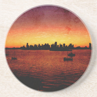 Miami Grunge Drink Coasters
