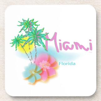 Miami hermosa la Florida Posavasos