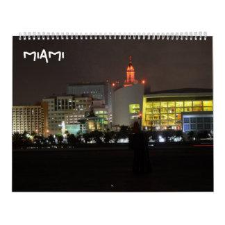 miami ii wall calendars