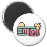Miami Imán Para Frigorífico