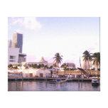 Miami Impresiones En Lienzo Estiradas