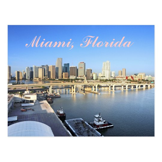 Miami, International gateway to the World. Postcard
