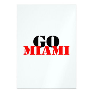 Miami Personalized Invitation