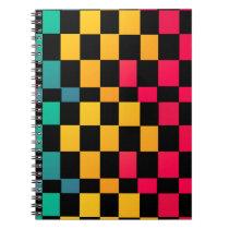 Miami Irregular Pattern Notebook